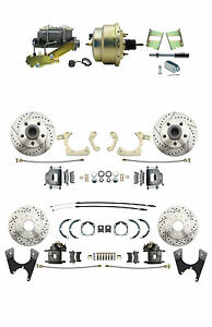 Gm 1959 64 Bel Air Impala Full Size Front Rear Power Disc Brake Conversion Kit