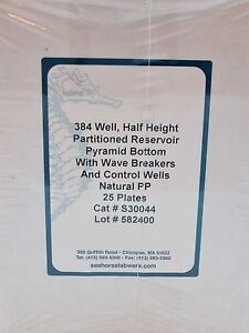 Seahorse Bioscience 384 Well Half Height Partitioned Reservoir S30044