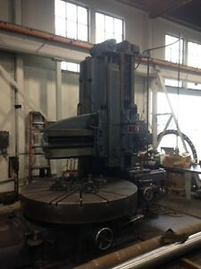 78 5 Berthiez Model Jz9340 Open Side Vertical Boring Mill