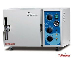 New Tuttnauer 1730 Valueklave Benchtop Steam Autoclave Sterilizer Nt1730vk