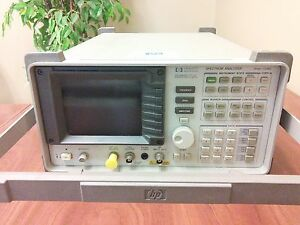 Hp 8590a Spectrum Analyzer 10 Khz 1 5 Ghz only 1 450 Excellent Condition