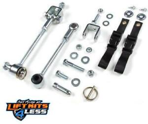 1997 2006 Jeep Wrangler Tj Zone Front Sway Bar Disconnects For 0 2 Lift Kits