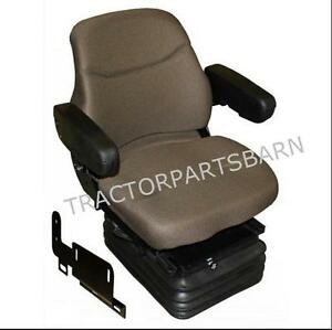 John Deere 8100 8110 8200 8300 8400 8410 New Brown Fabric Air Suspension Seat
