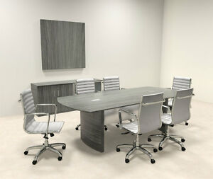 Modern Contemporary 8 Feet Conference Table mt med c1