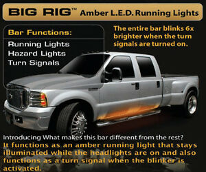 Recon 62 Big Rig Running Lights In Amber Part 26414