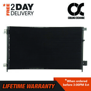 New A c Condenser For Honda Accord 2 4 L4 3 0 V6 Lifetime Warranty Sedan Only