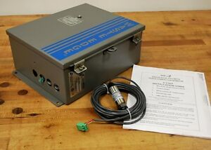 One Plus Corp waste Edge 200 6001 Trash Compactor Monitor W connector And Cable