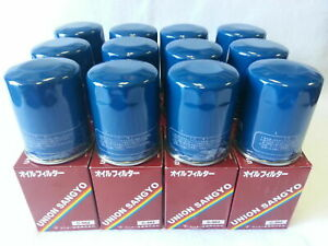 Set Of 12 Union Sangyo Oem Quality Oil Filter S For Honda Acura