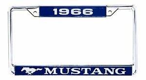1966 License Plate Frame Ford Mustang Made By Scott Drake Each
