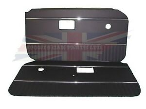 New Pair Of Door Panels For Mgb 1970 76 Made In Uk Dark Navy Blue