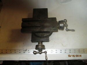 Machinist Tools Lathe Mill Lathe Cross Slide
