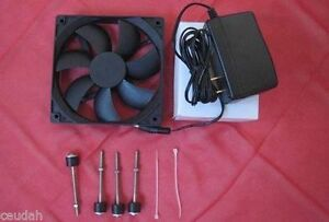 Circulated Air Fan Kit Installation For Homemade Eggs Incubator Bigger Size