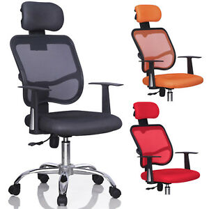 Ergonomic High Back Mesh Office Chair Swivel Executive Computer Desk Task Chair