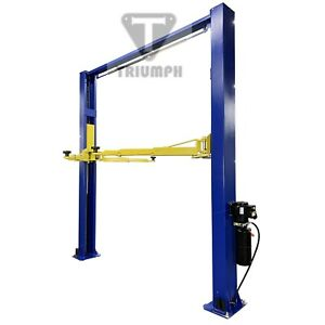 Two Post Auto Lift 9 000 Lb Capacity Car Vehicle Lift Overhead Style New