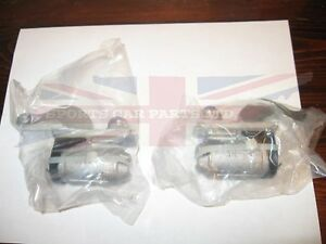 Pair New Rear Wheel Cylinders For Austin Healey Sprite Bugeye Frogeye 1958 1962