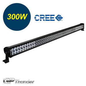 52 Inch 6000k Off Road 300w Cree Led Fog Lamp Work Light Bar For Suv Jeep 4wd
