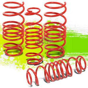 Performance Suspension Lowering Spring springs For 11 15 Mazda 2 Demio Neo Red
