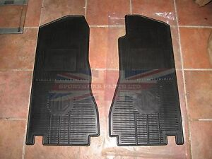 New Set Of Amco Style Rubber Floor Mats Mgb Mgc 1968 1980 Free U S Shipping