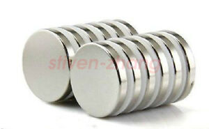 10pcs Super Strong Round Magnets 30 Mm X 3 Mm Disc Rare Earth Neo Neodymium N52