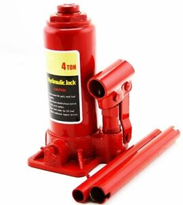 4 Ton Hydraulic Bottle Jack 8000lb Lift Heavy Duty Automotive New Free Shipping