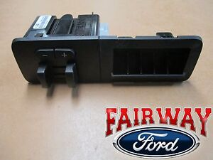 11 Thru 16 F 250 F 350 Oem Ford In dash Trailer Brake Controller W storage Kit