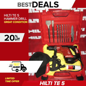 Hilti Te 5 Hammer Drill Strong Nice Condition made In Germany fast Shipping