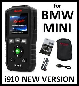 For Bmw Mini Diagnostic Scanner Tool Srs Abs Reader Code Scan Icarsoft Bmm V1 0