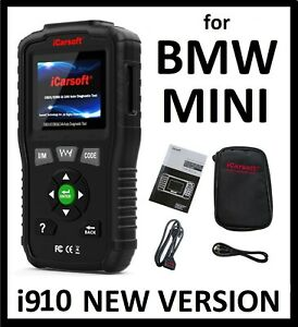 Diagnostic Scanner Tool Code Reader Engine Abs Srs Light Reset For Bmw Mini Cars