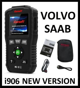 Volvo Diagnostic Scanner Tool Reader Code Check Engine Abs Airbag Light Reset
