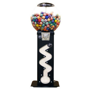 Zig Zag Bouncy Ball Machine 50 Cent Vend