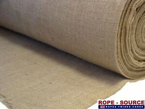 Natural Hessian Frost Protection Sheets 100m Roll 6oz 200gsm Various Sizes