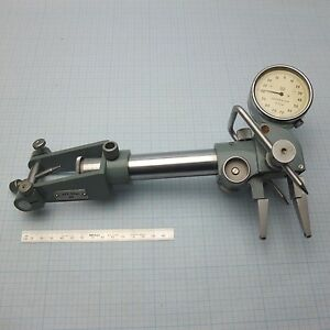 Groove Diameter Gauge Comparator W Quick Set up Double sided Dial Indicator
