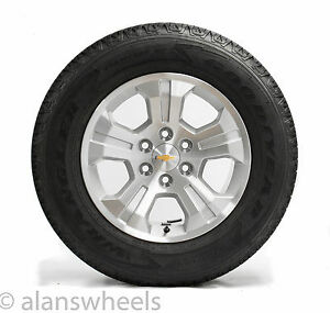 Four New Chevy Silverado Z71 Gmc Sierra Yukon Xl Denali 18 Wheels Rims Tires B