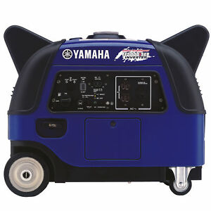 Yamaha Ef3000iseb 3 000 Watt Gas Powered Portable Inverter Generator W Boost