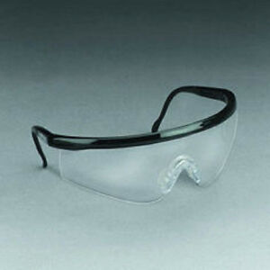 Viper 3m Safety Glasses Black And Clear Adjustable Case Of 24 37105