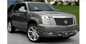 E g Cadillac Escalade Platinum Edition Heavy Mesh Black Ice Grille