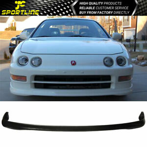 Fits 94 97 Acura Integra T R Style Polyurethane Front Bumper Lip Spoiler Bodykit