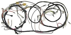 1953 1955 Corvette Dash And Forward Lamp Wire Harness New Reproduction