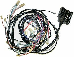 1958 1961 Corvette Dash And Forward Lamp Wiring Harness New Reproduction