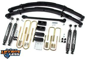 2000 2004 Ford F250 F350 Zone Offroad Gas diesel 4 Suspension Lift Kit Part f1