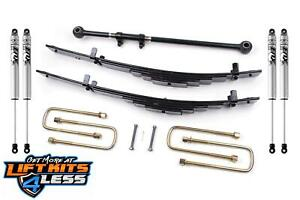 Zone Offroad F4 2 5 Leveling Suspension Lift Kit For 1999 2004 Ford F250 F350