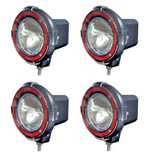 4 Inches 4x4 Off Road 6000k 55w Xenon Hid Fog Lamp Light 4pcs Spot Light 4 Lp 4s