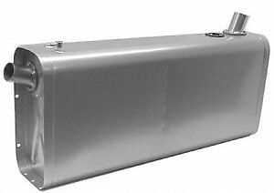 Stainless Universal Fuel Tank W Angled Neck Hose