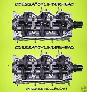 2 Chrysler Dodge Plymouth Mitsu 3 0 Sohc Cylinder Heads Roller Cam 1990 2001