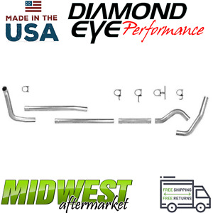 Diamond Eye 4 Turbo Back Exhaust System 1999 2003 Ford F 250 F 350 7 3l Diesel