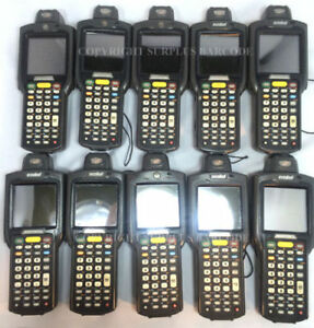 Lot Of 10 Motorola Symbol Mc3090r lc38s00ger Laser Wireless Barcode Scanners