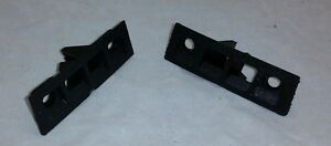 1984 1989 Corvette Door Panel Side Window Defrost Vent Bezels Pair New