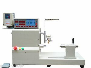 New Computer Fully Automatic Coils Winder Winding Machine With Large Baseboard S