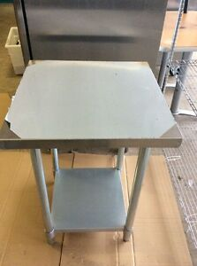 Brand New Regal Restaurant Supply Stainless Steel Table 24x24 New In Box
