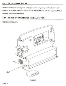 Scotchman Portafab 45 Ironworker Operators Parts Manual